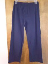 24a1ee49e92fe NWOT Just My Size 1X Navy Blue Relaxed Fit Elastic Waist Pull On Pants