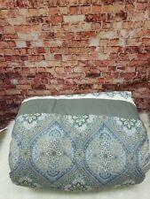 Hallmart Collectibles Hampton 7-Pc. Queen Comforter Tealgrey Queen Paisley Print
