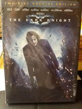 The Dark Knight (DVD, 2008, 2-Disc Set Special Edition)  NEW SEALED 085391176589