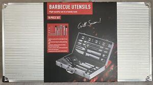 Barbegue Utensil Set 18pc