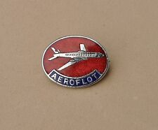Aeroflot Airlines pin badge  Russian Airways lapel Russia Federation