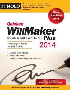 Quicken WillMaker Plus 2014 Edition: Book & Softwa