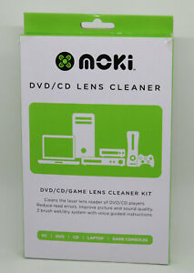 CD/DVD Player Head CLEANER Kit NEW cleaning disk disc lens laser game movie Moki