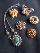Sarah Coventry Gold Vintage Costume Jewellery (1950s)
