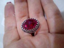 Königlicher Luxus Kopie Ring Kaiserin Romanova solide 925 Silber handgefertigt