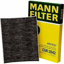 Audi - Porsche Cabin Filter MANN CUK 2842 Volkswagen Cabin Air Filter