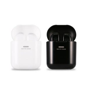 Wireless / Bluetooth Twin Pair Earphones with Charging Box
