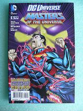 NEW DC vs MASTERS OF THE UNIVERSE #5 VF+/NM- HE-MAN SUPERMAN SKELETOR BATMAN App