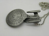 Star Trek Next Generation Enterprise-D Pewter Necklace from QMX