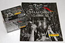 Panini CHAMPIONS OF EUROPE 2005 - 1 x DISPLAY BOX sealed/OVP + Leeralbum ALBUM