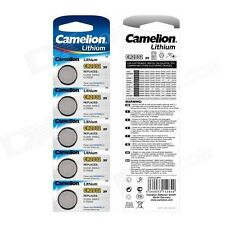 5 x CAMELION DL/CR 2032 3V Lithium Coin Cell Battery Expiry 2024