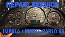 REPAIR SERVICE GM Impala Monte Carlo SS Instrument Gauge Cluster 01 02 03 04 05