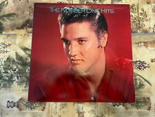 ELVIS - The Number ONE Hits Commemorative Issue w/ Poster and Ad Insert