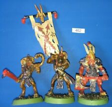 Beastman Gor Command Group - Beasts of Chaos Standard Musician Champion METAL