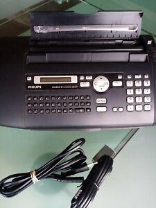 neuwertiges Philips Magic 5 Classic Faxgerät Fax Normalpapierfax mit Kopierer