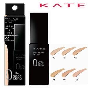 [KANEBO KATE] The Base Zero Real Cover Light Glow Liquid Foundation 30ml NEW