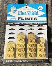 Blue Shield Great Southern Lighter Flint Store Display Card Antique Advertising