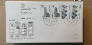 0375 Envelope 1ER Day Country Low 1985 Window Castle Architecture