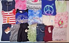 NWT Girls Fall Clothes Lot Size 7 7/8 Outfits Tops Jeans Sweater Hoodie Jacket