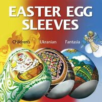 SET of 3 packages Easter Egg Sleeves Shrink Wraps Pysanka Pysanky Egg Decor