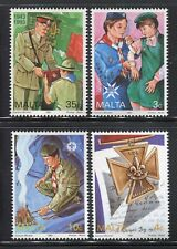 MALTA 1993 BOY SCOUTS/GIRL GUIDES/ORGANIZATION/UNIFORM/EMBLEM/CAMP FIRE/MEDAL