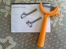 Tupperware Orange Twistable Peeler