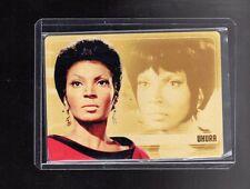 2017 Woman of Star Trek 50th Anniversary GOLD METAL WS2 card