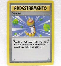 POKEMON set base unlimited - carta VENTATA - 93/102 ITALIANO
