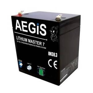Lithium Master 12V 7Ah Li-ion Battery - LiFePo4 Deep Cycle