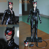 1/6 Catwoman Action Figure KUMIK Toys Women Girl Female Body Suit KMF029