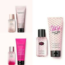 Victoria's Secret Travel Mist & Velvet Body Cream Gift Set - Tease - Bombshell