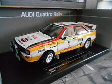 AUDI Quattro Rallye A2 Portugal #1 Mikkola Hertz Winner HB Sieger Sunstar 1:18