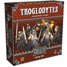 Massive Darkness: PRESALE Troglodytes Enemy Box expansion coolminiornot New