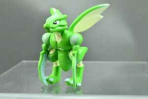 Pokemon Tomy Scyther Auldey Monster Collection Figure