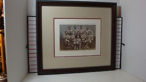 Maple Leafs base ball club Harpers Weekly Sept 12,1874 antique print framed mint