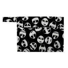 Skull Skeleton Jack Mini Wet Bag Reusable For Mama Cloth Menstrual Pad Small