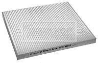 Borg & Beck Interior Air Filter Cabin Pollen BFC1078 - GENUINE - 5 YEAR WARRANTY