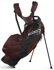 Sun Mountain 4.5 Ls Stand Bag Golf Carry Bag Black/Granet/Inferno 2020 New