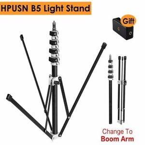 210cm Light Stand B5 Collapsible 6.9ft Metal Portable Foldable Tripod 3kg Load B