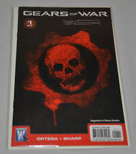 Autographed GEARS OF WAR #1 Comic Book (By Liam Sharp) SIGNED (Lead Artist)