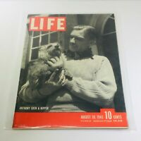 VTG Life Magazines: August 30 1943 - Anthony Eden & Nipper / Bombing Quebec