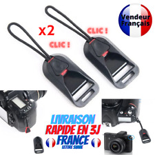 Attache rapide Sangle Epaule Connecteur Universel pour Appareil Photo Sony Canon