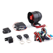 Vehicle Security Car System Auto Keyless Entry Alarm One Way Engine Remote Start