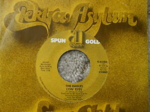 Eagles - Take It To The Limit / Lyin' Eyes - USA Elektra Jukebox 45