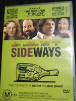 Sideways DVD Paul Giamatti FREE Shipping Good Condition