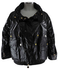 Moncler Jacke schwarz Gr.3 M 38 Seide Damen Blouson Windjacke Bomber jacket