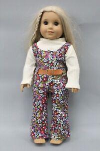 "American Girl Doll Julie Albright Blonde Long Hair 18"" Doll"