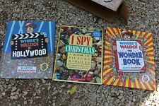 Vintage Wheres Waldo Wonder Book Hollywood - I Spy - First Editions Deluxe print