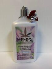 Hempz Triple Moisture Sweet Peppermint & Sugar Plum - 17oz * Broken Dispenser *