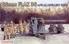 Dragon 6260 1/35 WWII German 88mm Flak 36 w/Flak Artillery Crew